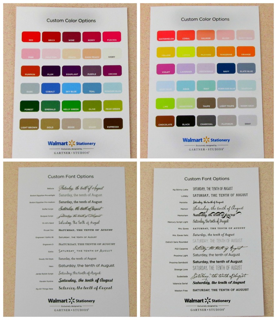 save on wedding invitations with the walmart stationary store walmart wedding invitation kits Custom Options for Walmart Wedding Stationary