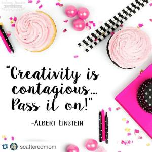 Love the inspiration going on scatteredmom! Check her gorgeouso instagramhellip