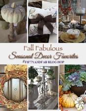 Seasonal Decor Favorites and #fiftyandfab