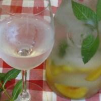 Peach Mint Water