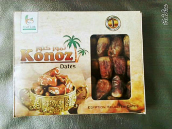 small pack of semi-dry dates