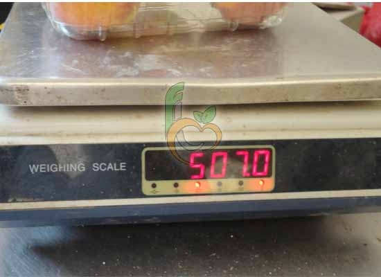 Egyptian Peach Punnet WEight