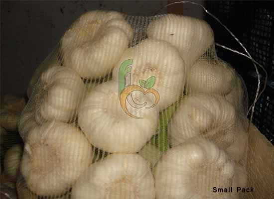 Package of Garlic in small bags
