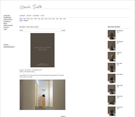 Gavin Turk web 7