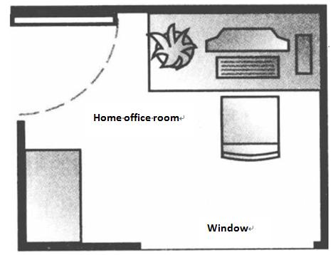 computer screen facing windowbad feng shui office desk placement
