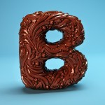 The Sculpted 3D Alphabet