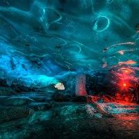 Stunning Alaskan Ice Cave