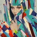 Graphic and Colorful Portraits by Erik Jones -8