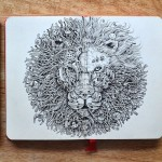 Hyperdetailed Drawings by Kerby Rosanes_0