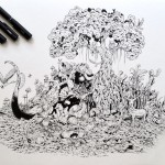 Hyperdetailed Drawings by Kerby Rosanes_5
