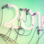 2016 Neon Light Tosca Background 3D