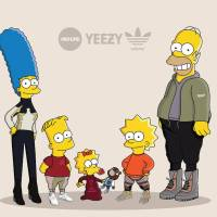 The Simpsons as Sneakerheads in Yeezy Boost