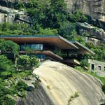 Fantastic Futuristic House Built on a Cliff1