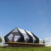 Polygonal Pavilion in Netherlands by Frank Havermans
