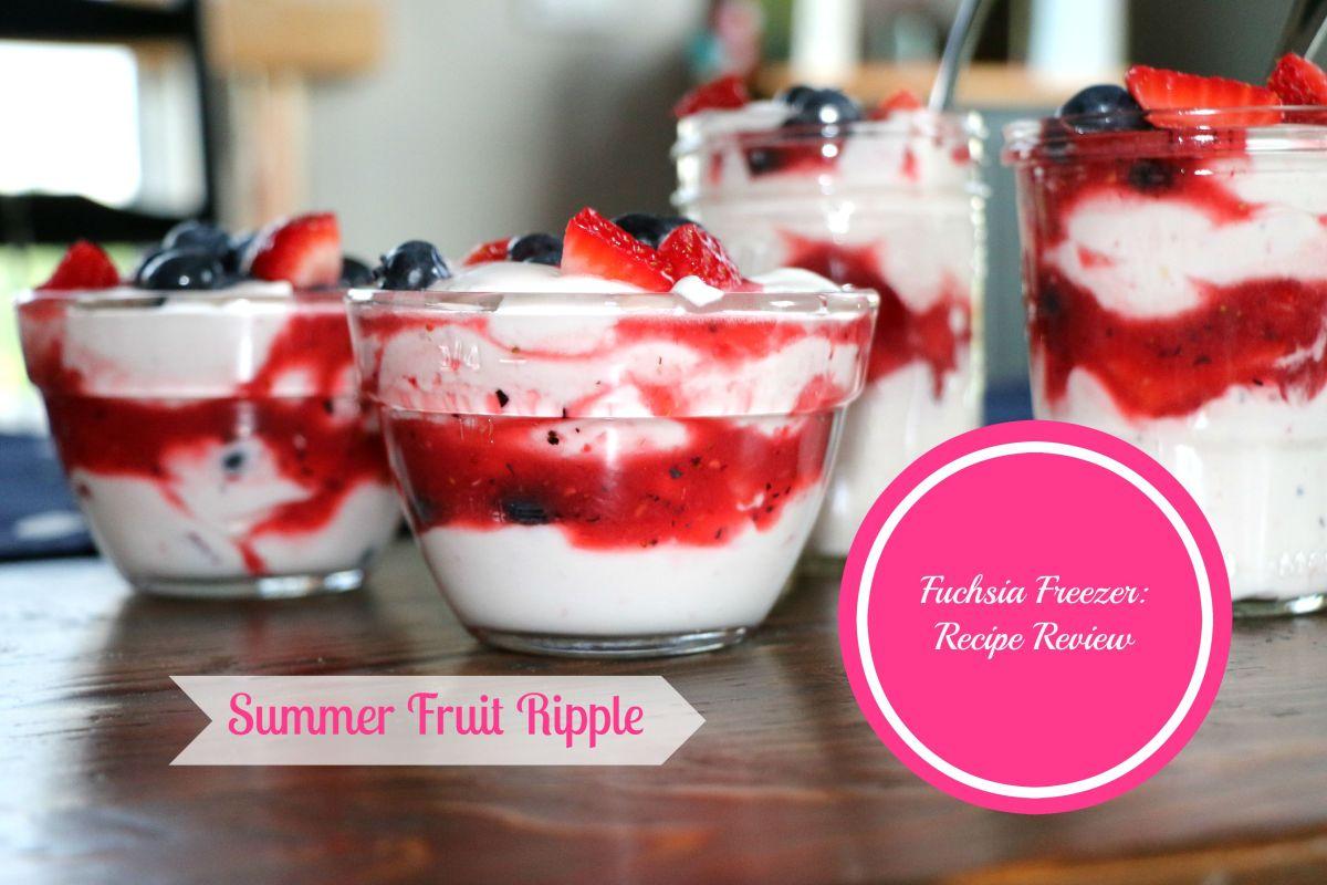 Recipe Review: Summer Fruit Ripple