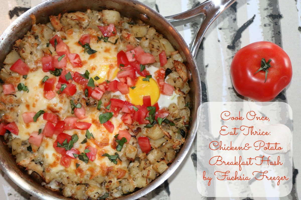 Cook Once, Eat Thrice: Chicken & Potato Breakfast Hash