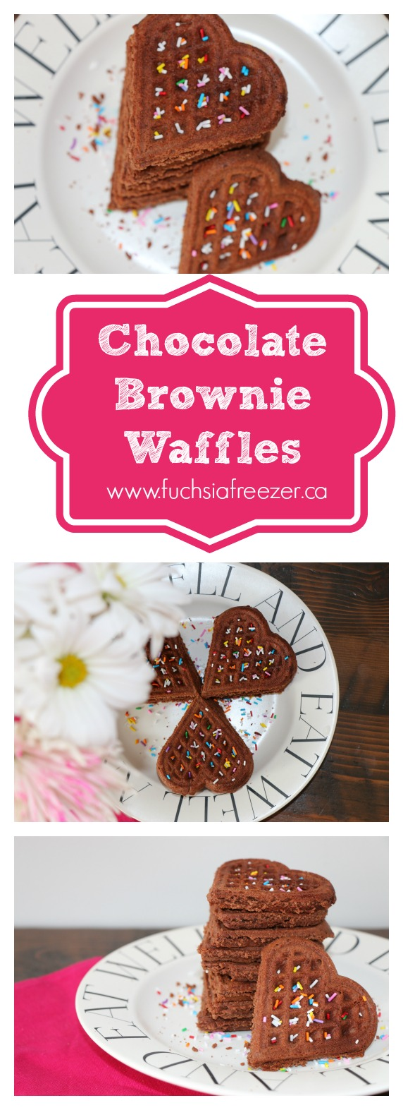 Delicious Chocolate recipes that will make your mouth water from the #FoodieMamas. Starting with this Chocolate Brownie Waffle!