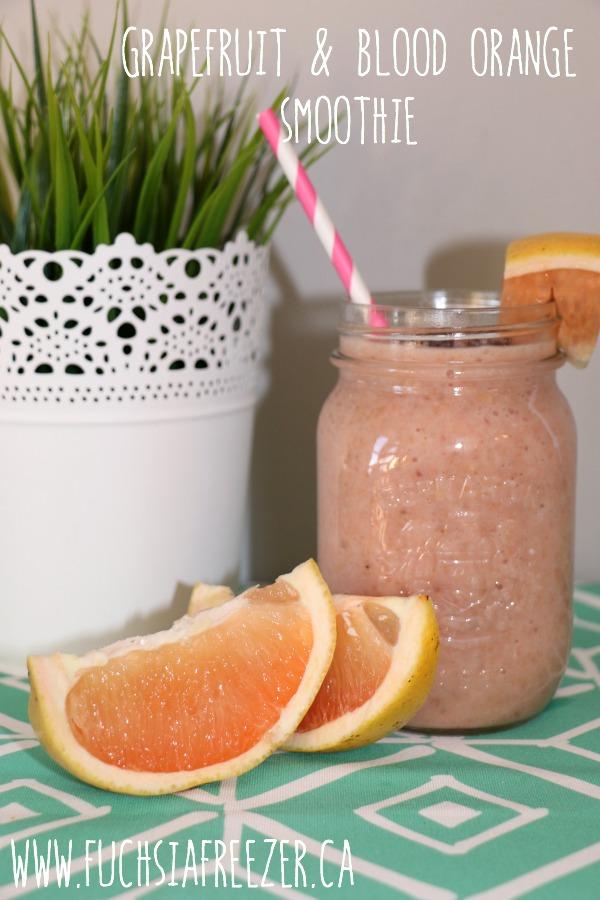 Grapefruit & Blood Orange Smoothie