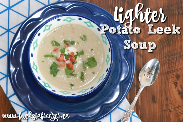 Lighter Potato Leek Soup