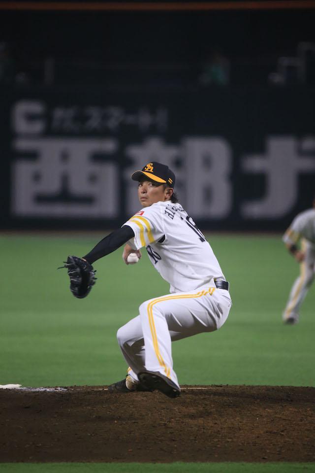 Nao Higashihama – (C)SoftBank HAWKS