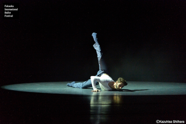 Damien Nazabal impresses the audience with 'Die Verlorene Seele'. The second new creation was 'Amor Vincit Omnia' danced by Riho Sakamoto and Matthew Pawlicki-Sinclair and choreographed by British choreographer Peter Leung.