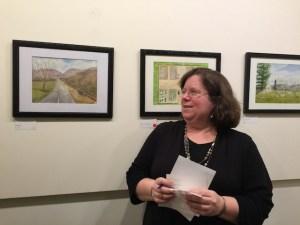 Rachel Barlow and her paintings