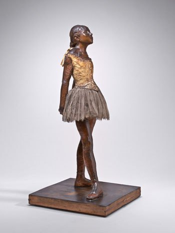 Little Dancer, age 14 by Degas