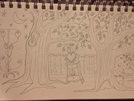 Waiting Room Drawing III