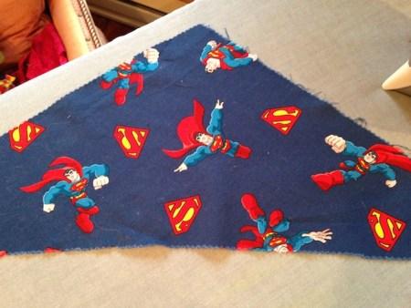 Red's Superman Bandana