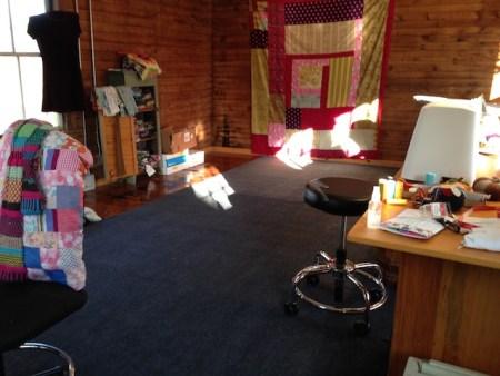 New carpet in my studio