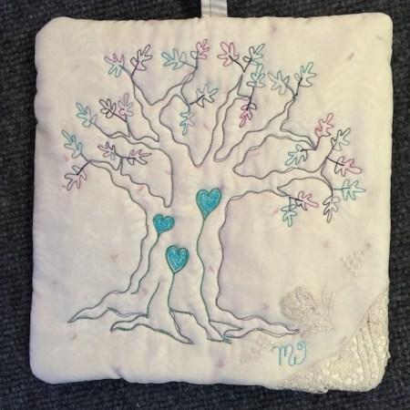 Blue Heart Tree