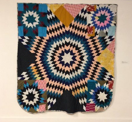 One of the quilts from the Gee's Bend Exhibit at Lehman college