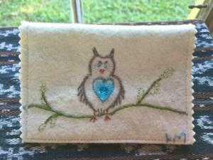 Kim McMillan's Owl Wallet