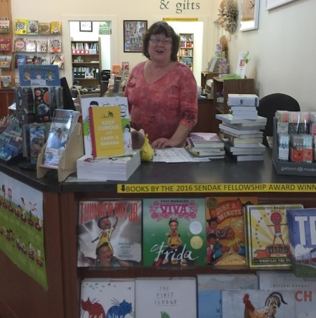 Marilyn Brooks, Painter and Bookseller at Battenkill Books