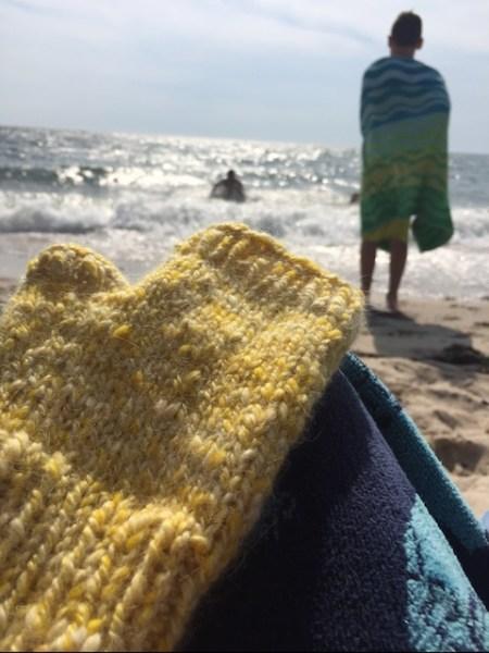 Suzy Fatzinger's fingerless gloves