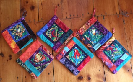 Rainforest Potholders