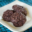 gluten-free vegan double chocolate chip cookies - feature 1600px