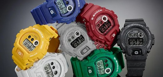 ジーショック (G-SHOCK)、ヘザード・カラー・シリーズ (Heathered Color Series)から7色のGD-X6900HTが発売!