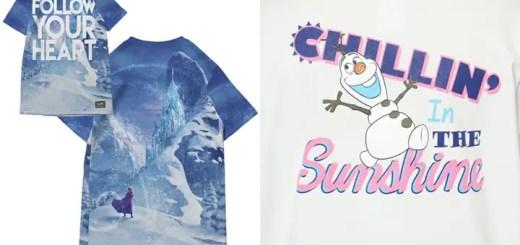 エックスガール (X-girl) × アナ雪とのコラボTシャツが2種類展開!ありのままで予約せよ!