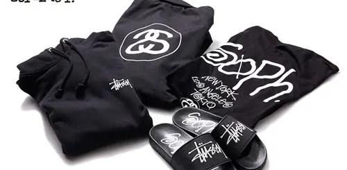 ステューシー × ソフネット!コート、フーディー、Tシャツ等コラボアイテムが5/22発売!(STUSSY × SOPHNET.)