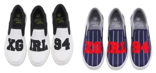 エックスガール (X-girl) × シュガーフリーク (SUGER FREAK)とのコラボスリッポン「X-girl x Suger Freak Footwear」が発売!