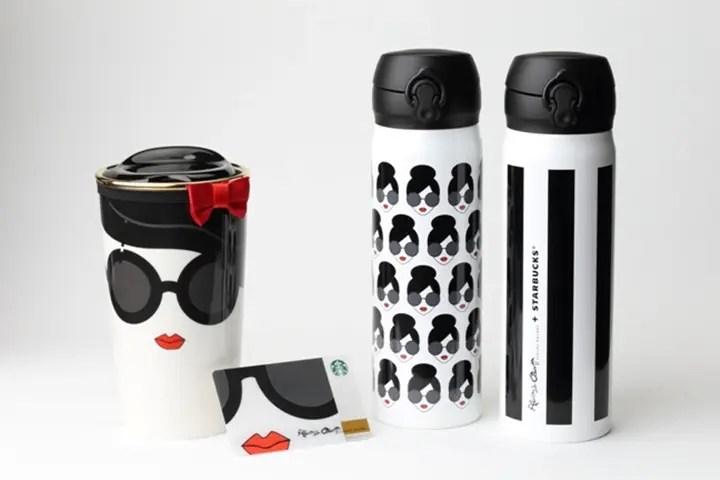 6/24から!alice + oliviaデザイン × スタバ (STARBUCKS) コラボ!日本限定商品として「ステンレスボトル」「マグカップ」「スターバックス カード」を発売!
