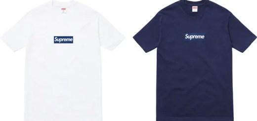 【速報】シュプリーム (SUPREME) × ヤンキース (New York Yankees) BOX LOGO TEEがいよいよ6/13から発売!