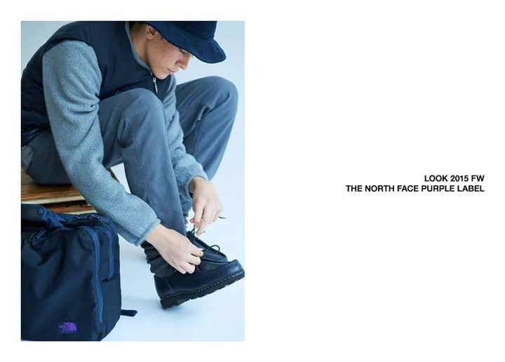 ザ・ノースフェイス パープル レーベル 2015年 秋冬ルックブックが発表! (THE NORTH FACE PURPLE LABEL 2015 FALL/WINTER LOOK BOOK)