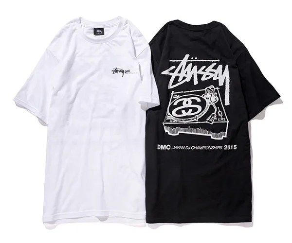 ステューシー (STUSSY) × DMC JAPANとのコラボアイテム「DMC JAPAN DJ CHAMPIONSHIPS 2015 TEE & Coach Jacket」が登場!