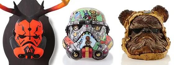 世界のアーティストがスターウォーズ ストームトルーパーヘルメットをカスタマイズ!セカイモンで販売! (STAR WARS STORMTROOPER)