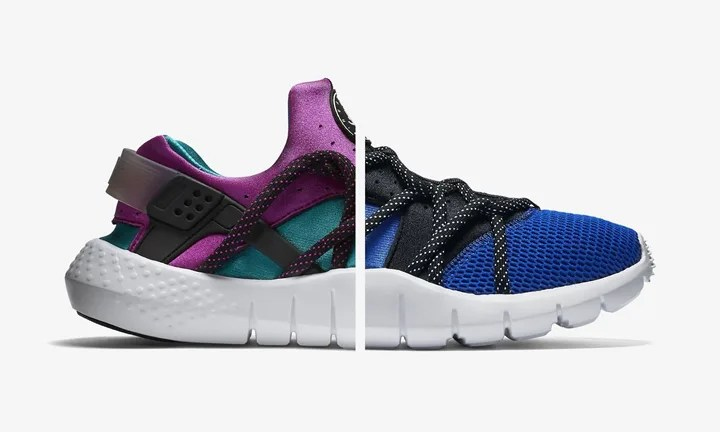 ナイキ ハラチ NM Radiant Emerald/Game Royal (NIKE HUARACHE) [705159-305] [705159-402]