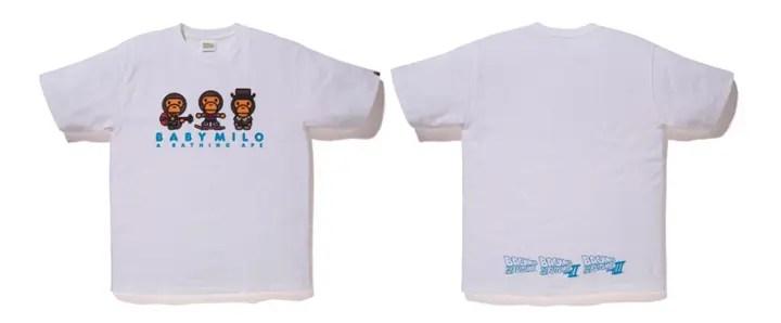 10/21からA BATHING APE × BACK TO THE FUTUREとのコラボTEEが5型発売! (エイプ バック・トゥ・ザ・フューチャー)