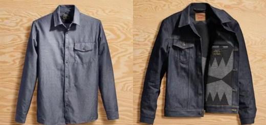 Levi's × PENDLETONのコラボジャケット & ワークシャツがリリース! (リーバイス ペンドルトン)