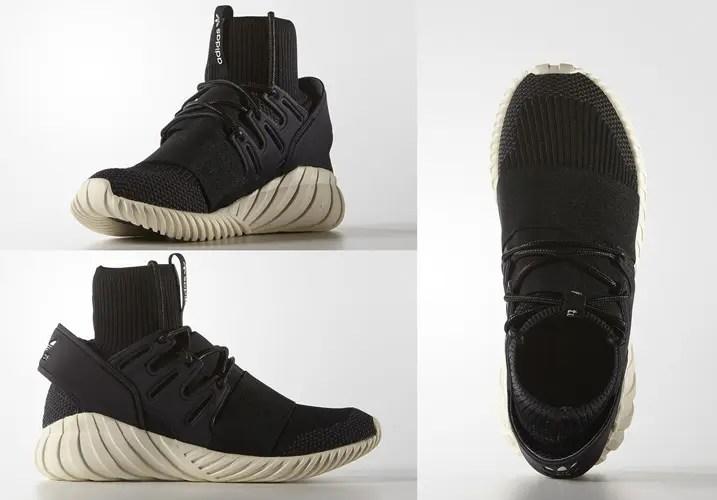 【国内スタンバイ】アディダス オリジナルス チュブラー ドゥーム プライムニット コアブラック (adidas Originals TUBULAR DOOM PRIMEKNIT Core Black) [S74921]